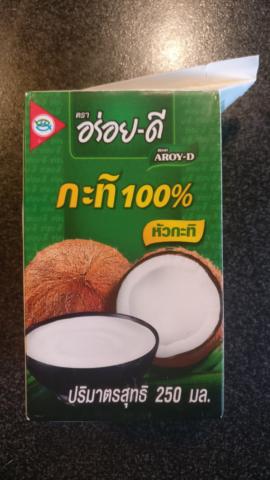 Kokosové mléko (Kaufland DE)